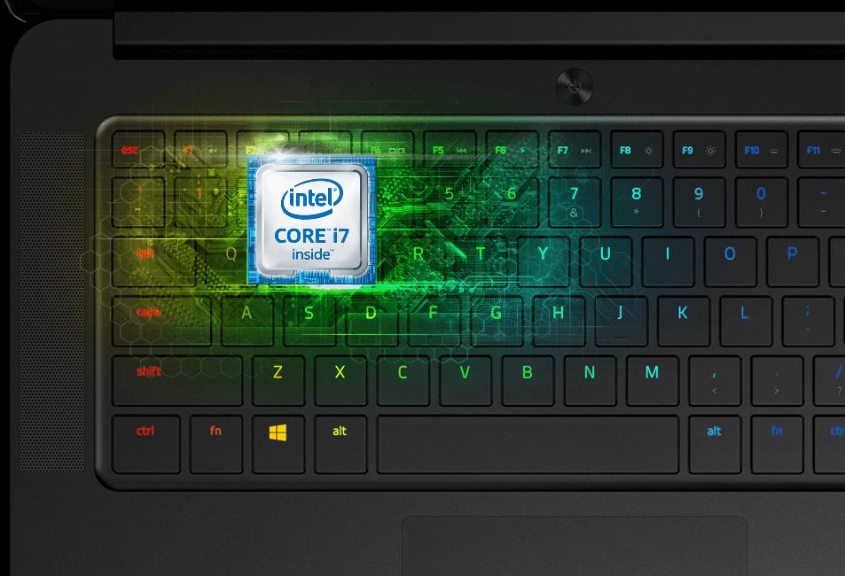 Intel processor in Razer Blade